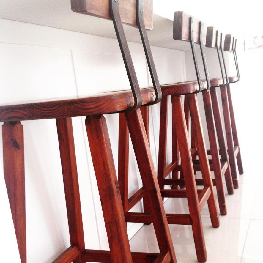 Custom stools - Kirra